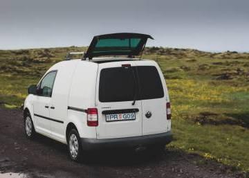 VW Caddy 2008 Iceland