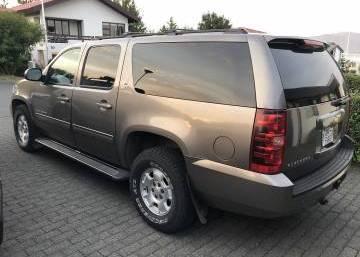 Chevrolet Suburban  2013 Iceland