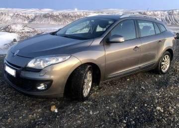 Renault Megane 2013 Iceland