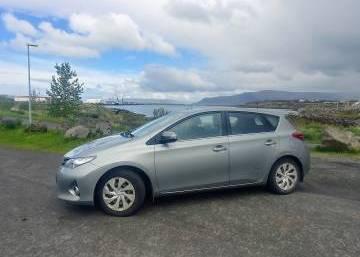 Toyota Auris 2015 Iceland