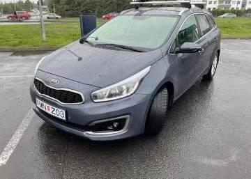 Kia Ceed Wagon 2016 Iceland