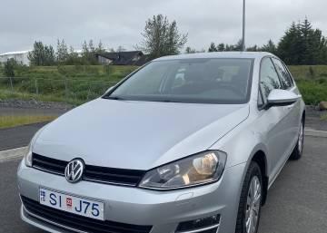 VW Golf 2016 Iceland