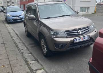 Suzuki Grand Vitara 2014 Iceland