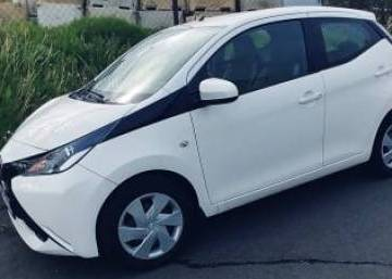 Toyota Aygo 2015 Iceland