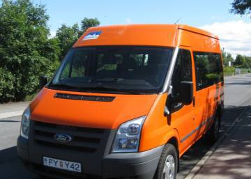 Ford Transit 2011 Iceland