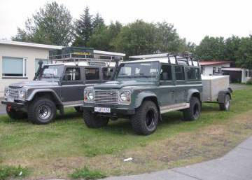 Land Rover Defender 110 2014 Iceland