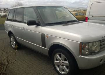 Land Rover Range Rover HSE 2004 Iceland