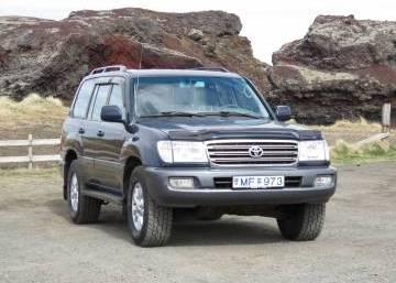 Toyota Land Cruiser 100 2003 Iceland
