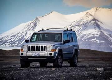Jeep Commander 2008 Iceland