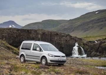 VW Caddy 2015 Iceland
