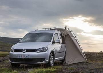 VW Caddy Campervan 2015 Iceland