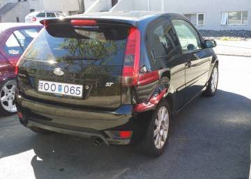 Ford Fiesta ST 2005 Iceland