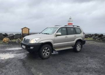 Toyota Land Cruiser 120 2004 Iceland