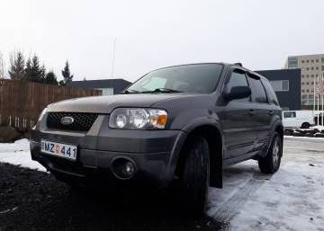 Ford Escape 2005 Iceland